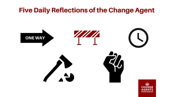 Five Reflections of the Change Agent